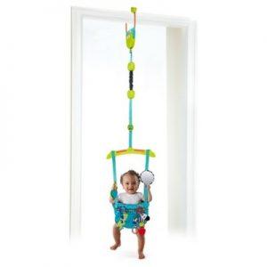 Bright Starts Kaleidoscope Door Top Baby Jump Bouncing Safari Jumper NEW