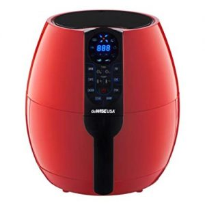 GoWISE USA 3.7-Quart Programmable Air Fryer with 8 Cook Presets Review